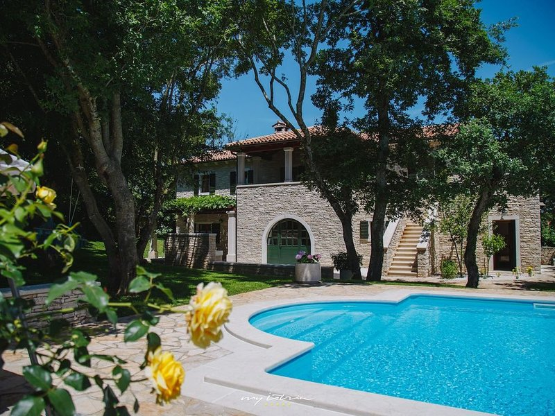 Luxury stone villa in Central Istria, holiday rental in Kringa
