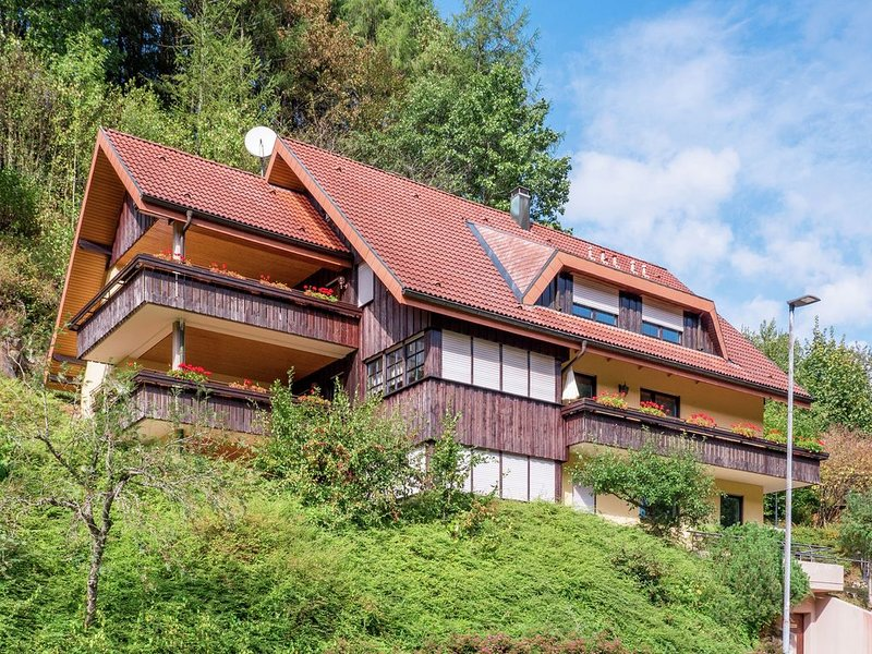 Cosy, small apartment in the Black Forest with private terrace, aluguéis de temporada em Bad Rippoldsau