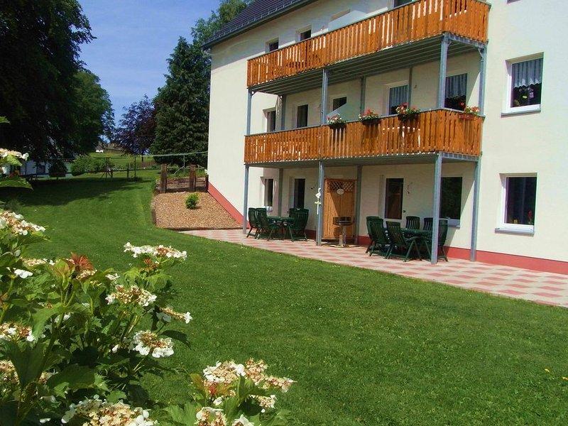 Spacious Apartment in Grüfflingen with Sauna, casa vacanza a Lutzkampen