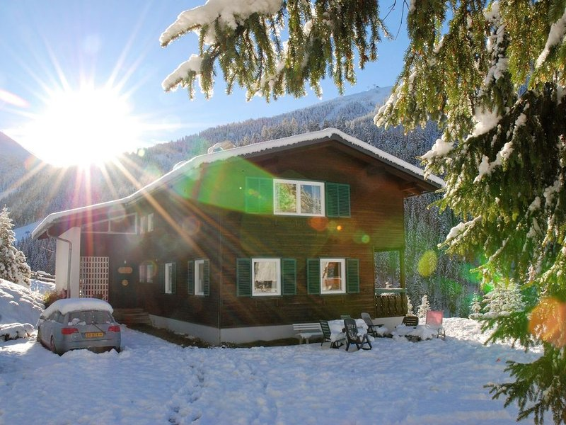 Beautiful and very luxurious chalet in walking and skiing area Innerkrems, location de vacances à Innerkrems
