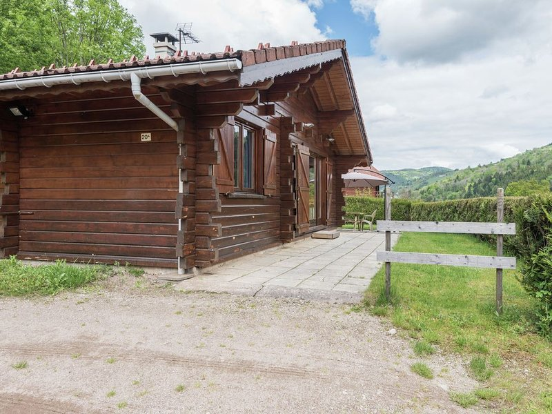 Chalet in lovely, rich forest setting with a beautiful view., location de vacances à La Bresse