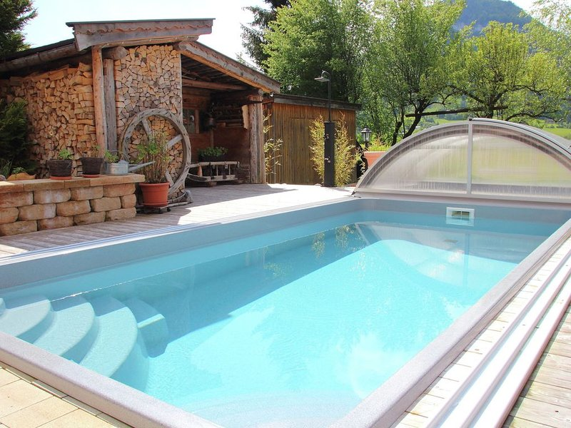 Modern Apartment in Kirchdorf with Swimming Pool – semesterbostad i St. Ulrich am Pillersee