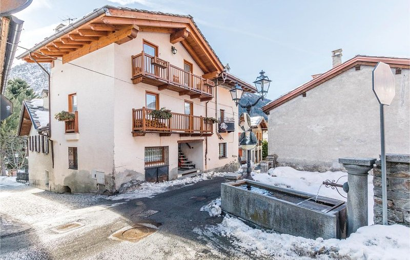 2 Zimmer Unterkunft in Brusson AO, vakantiewoning in Gressoney Saint Jean