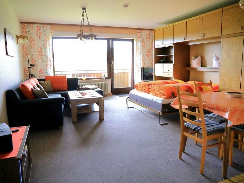 Ferienwohnung Nr. 6, 62 qm mit Balkon und 2 Schlafzimmern für max. 6 Personen, vacation rental in Herrischried