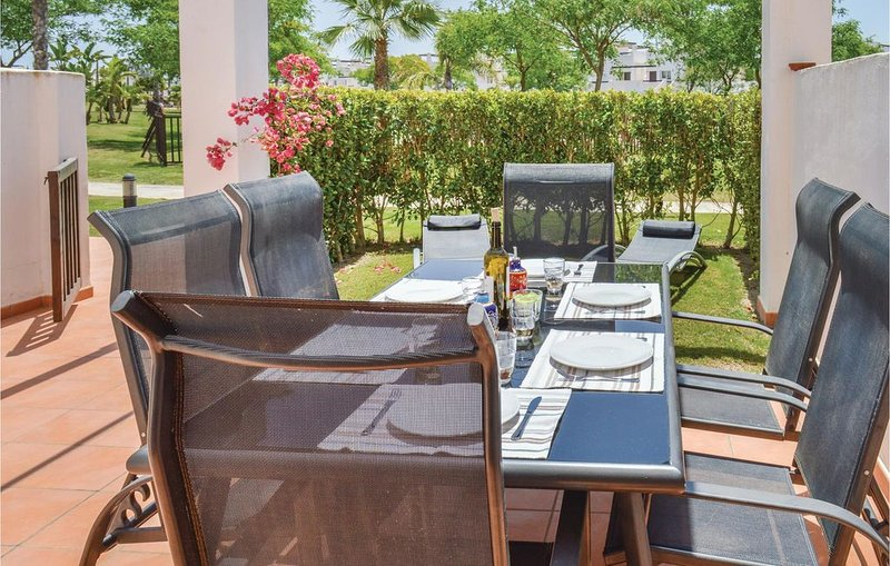 3 Zimmer Unterkunft in Alhama de Murcia, holiday rental in Camposol