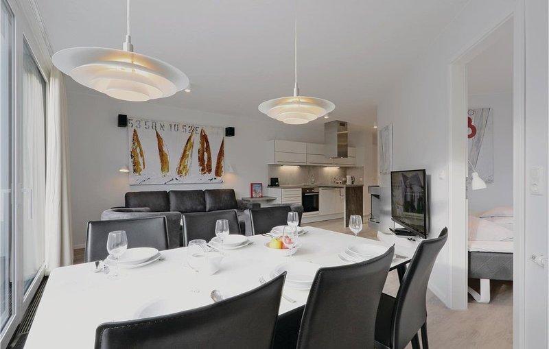 3 Zimmer Unterkunft in Travemünde Waterfront, aluguéis de temporada em Ratzeburg