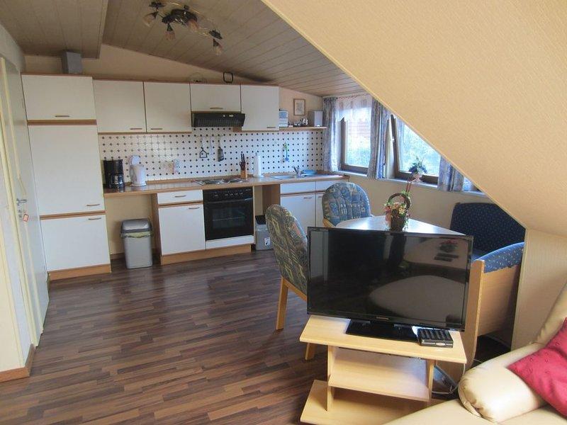 Ferienwohnung Rödel mit ca. 45qm, 1 Schlafzimmer, für maximal 4 Personen, vacation rental in Minsen