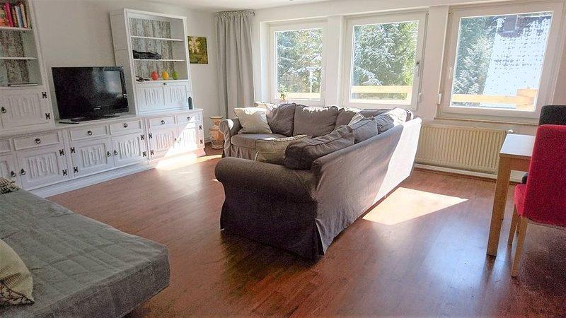 Ferienwohnung, 70qm, Terrasse, 1 Schlafzimmer, max. 4 Personen, vacation rental in Titisee-Neustadt