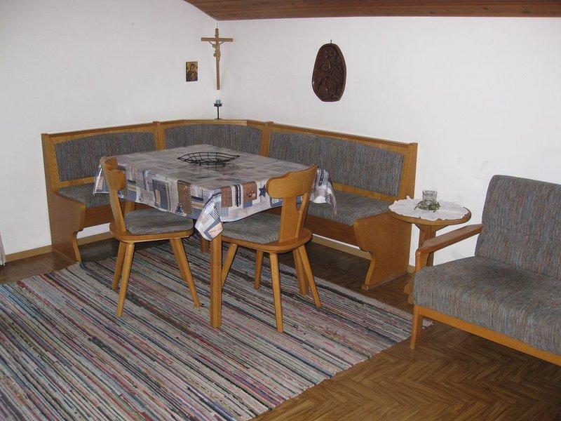 Ferienwohnung Kienberg für 4 Personen, 2 Schlafzimmer, Balkon, 60 m², holiday rental in Unken