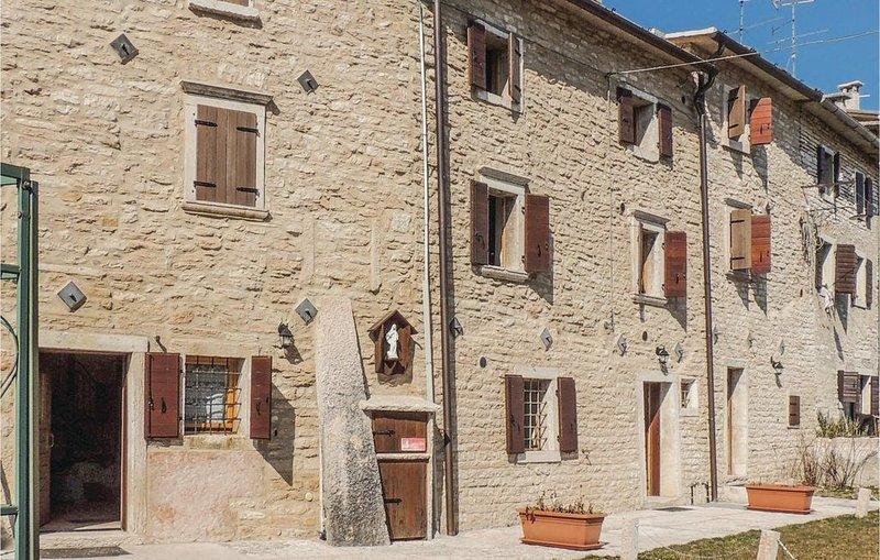 2 Zimmer Unterkunft in Fosse di S.Anna di A., alquiler vacacional en Recoaro Terme