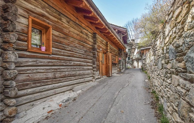 1 Zimmer Unterkunft in Brusson Vollon AO, vakantiewoning in Gressoney Saint Jean