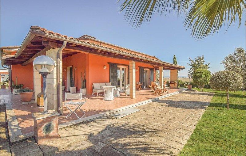 3 Zimmer Unterkunft in Principina a Mare (GR), vacation rental in Alberese