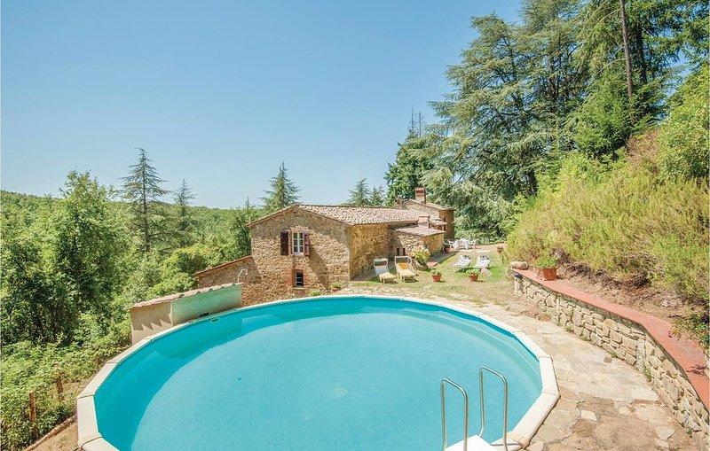 5 Zimmer Unterkunft in Gaiole in Chianti (SI), vacation rental in Barbischio