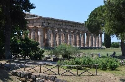 The world famous temples of Paestum are just a 20 minute drive away