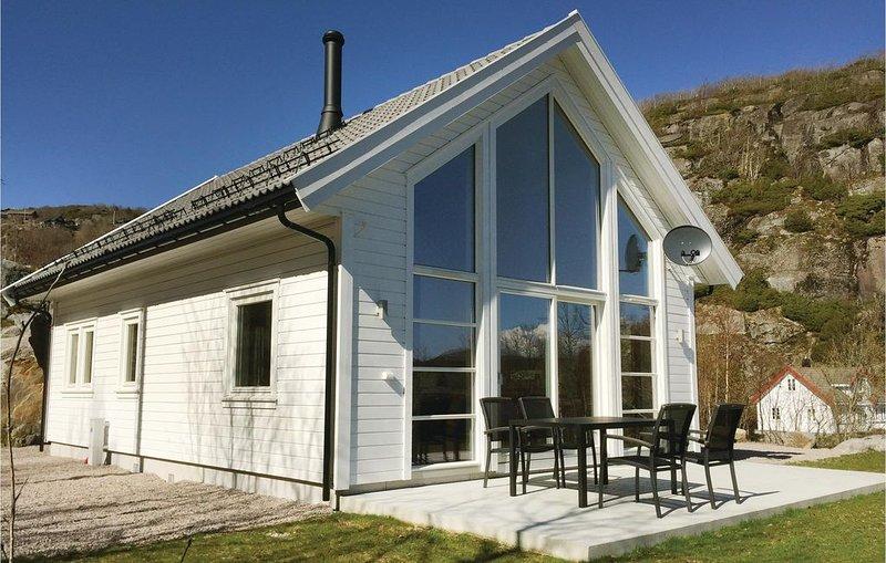4 Zimmer Unterkunft in Lyngdal, location de vacances à Mandal Municipality
