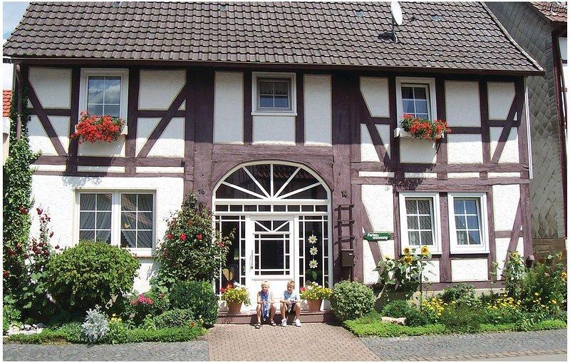 3 Zimmer Unterkunft in Oberweser/Gieselwerder, vacation rental in Delliehausen