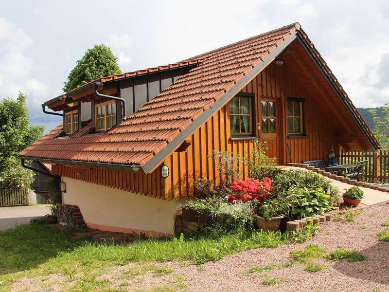 Ferienwohnung 'Backhäusle', 62 qm, 1 Schlafzimmer, max. 2 Personen, holiday rental in Tennenbronn