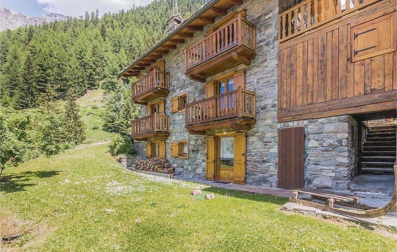 2 Zimmer Unterkunft in Bien -AO-, vacation rental in Noasca