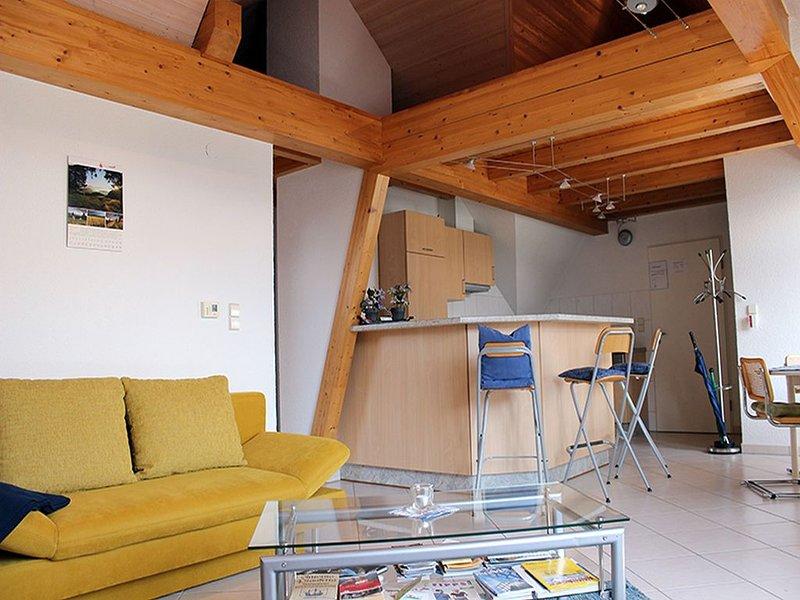 Ferienwohnung Obergeschoss, 70qm, 1 Schlafzimmer, max. 4 Personen, holiday rental in Umkirch