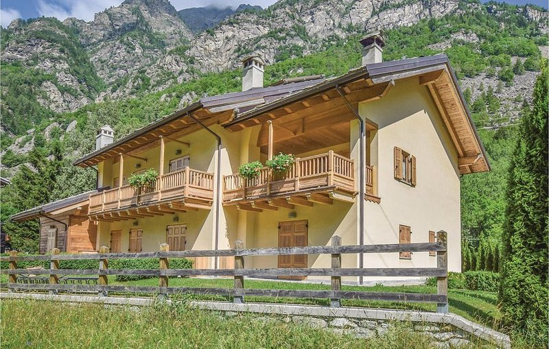 2 Zimmer Unterkunft in Gaby- Gressoney, vakantiewoning in Gressoney Saint Jean