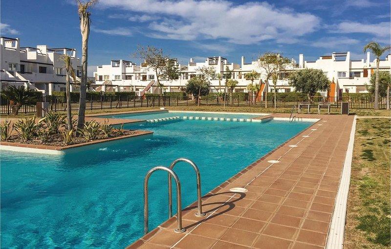 2 Zimmer Unterkunft in Alhama de Murcia, holiday rental in Camposol