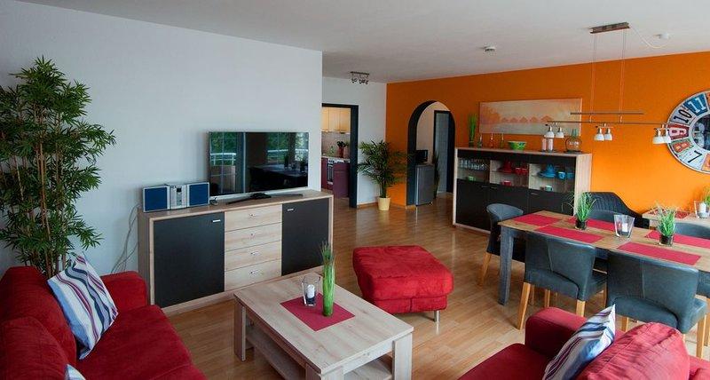 Ferienwohnung, 120qm mit 4 Schlafräume für  max. 7 Personen, holiday rental in Laufenburg
