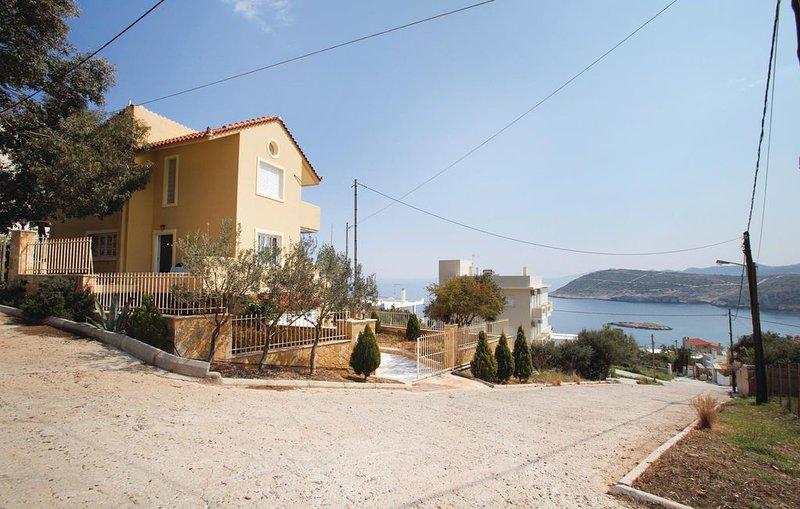 3 Zimmer Unterkunft in Kaki Thalassa, vacation rental in Kaki Thalassa