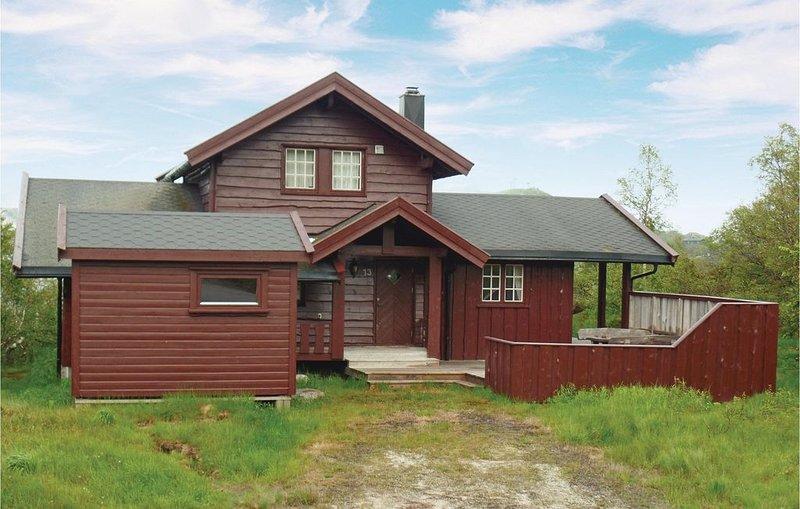 4 Zimmer Unterkunft in Åseral, casa vacanza a Comune di Aseral