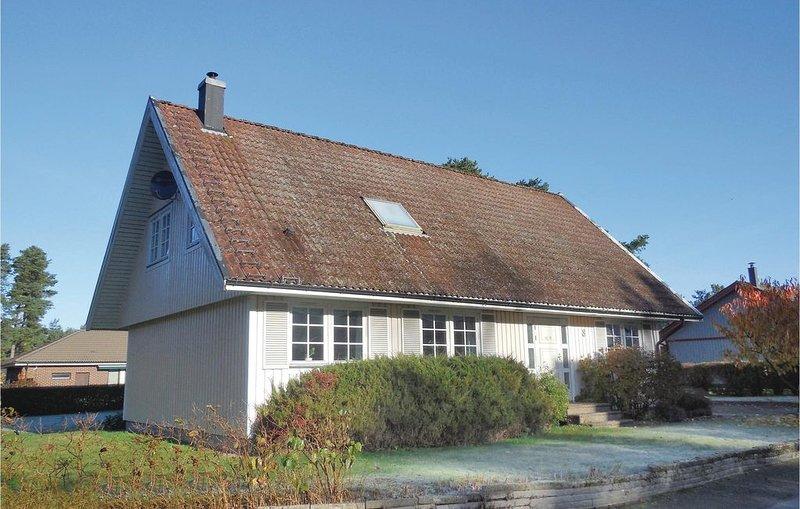 3 Zimmer Unterkunft in Åhus, location de vacances à Sölvesborg