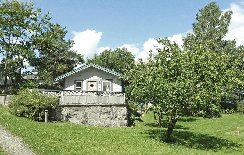 1 Zimmer Unterkunft in Norrtälje, aluguéis de temporada em Vaddo