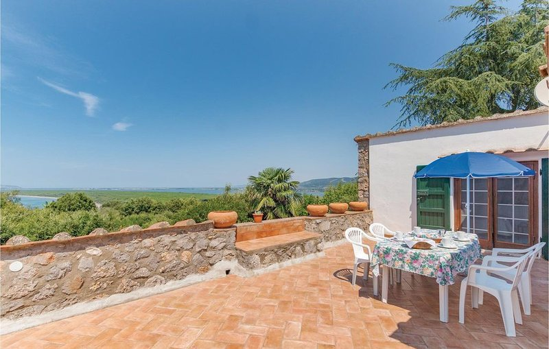 4 Zimmer Unterkunft in Ansedonia (GR), vacation rental in Ansedonia