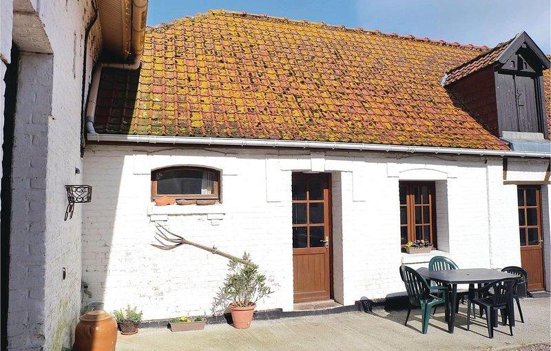 1 Zimmer Unterkunft in Hames-Boucres, vacation rental in Bleriot-Plage