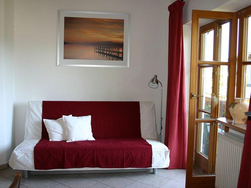 Ferienwohnung  65 qm 1 Schlafzimmer, 1 Wohnschlafraum  für 2-5 Personen im OG – semesterbostad i Prien am Chiemsee