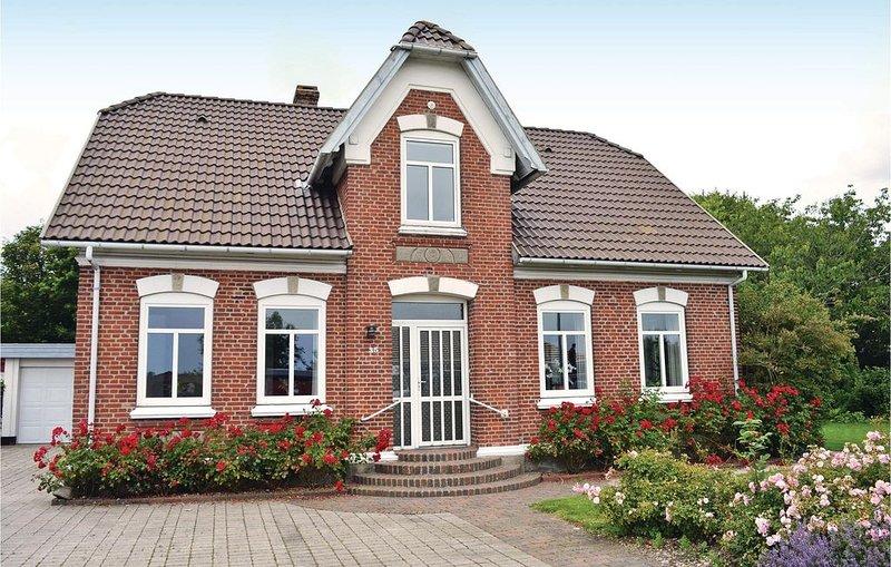 3 Zimmer Unterkunft in Bredebro, holiday rental in Ballum