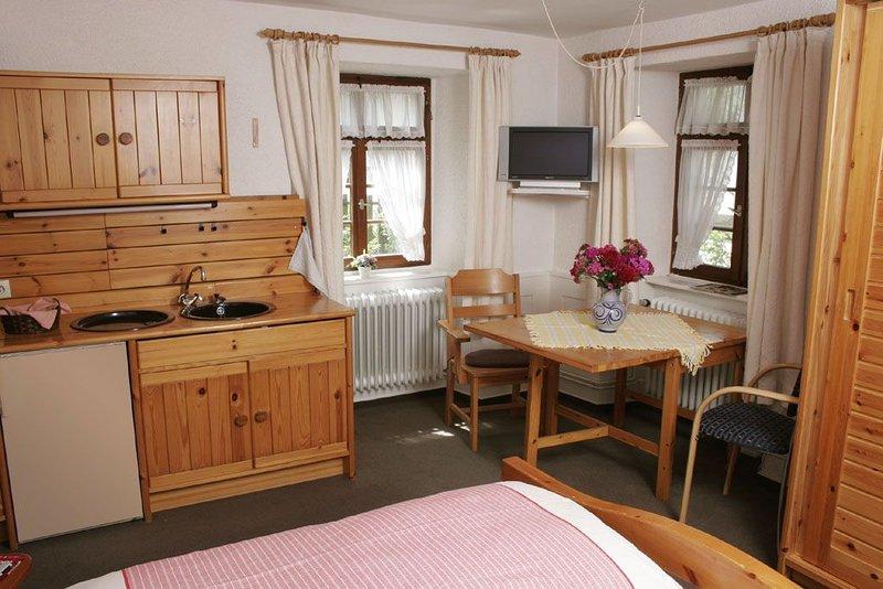 Appartement A1, 20qm, 1 Wohn-/Schlafzimmer, max. 2 Personen, location de vacances à Britzingen