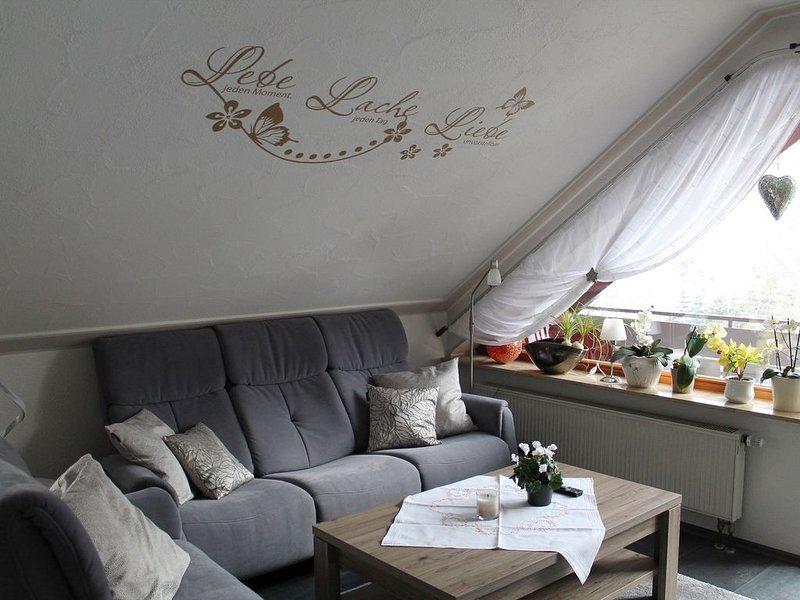 Ferienwohnung Mutschler, 100 qm, Balkon, 2 Schlafzimmer, max. 6 Personen, alquiler vacacional en Freudenstadt