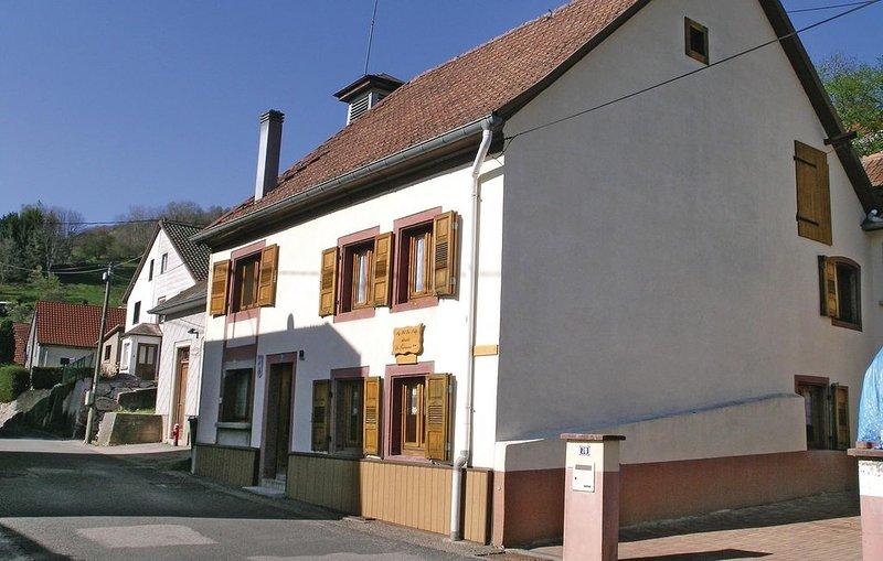 2 Zimmer Unterkunft in Natzwiller, holiday rental in Breitenbach