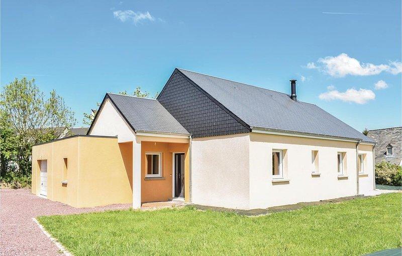 3 Zimmer Unterkunft in Quettreville-sur-Sien., location de vacances à Quettreville-sur-Sienne