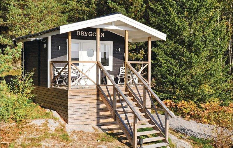 1 Zimmer Unterkunft in Säffle, location de vacances à Edsleskog