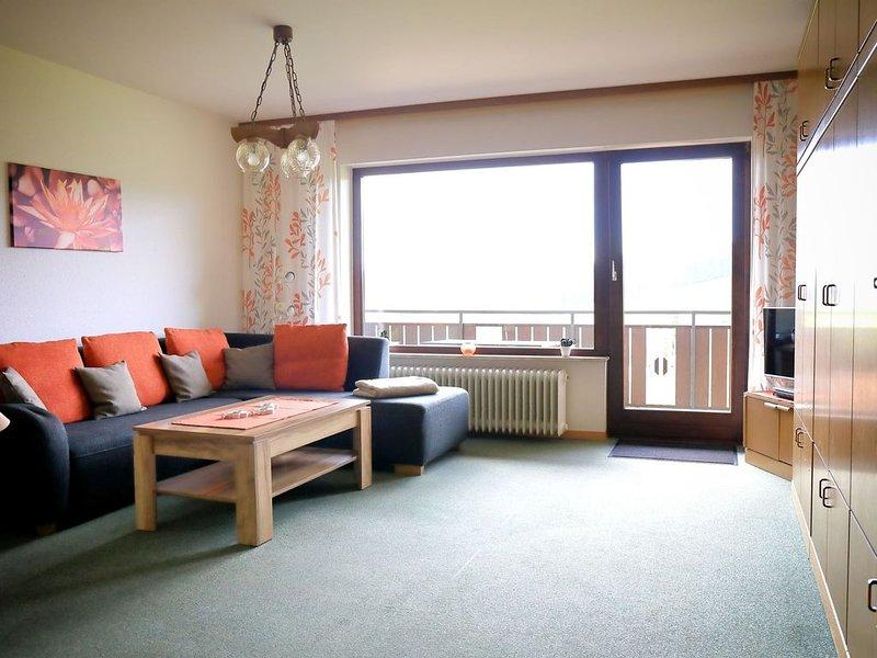 Ferienwohnung Nr. 4, 62 qm mit Balkon und 2 Schlafzimmern für max. 5 Personen, holiday rental in Laufenburg