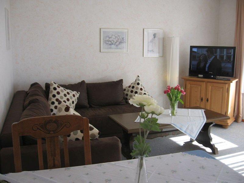 3-Zimmer-Wohnung 'Bühlblick', 80qm, 2 Schlafzimmer, max. 5 Personen, aluguéis de temporada em Bonndorf im Schwarzwald