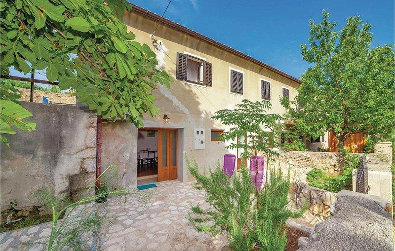 1 Zimmer Unterkunft in Kraljevica, holiday rental in Praputnjak