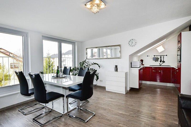 Ferienwohnung Domicilio Azzurro mit ca. 70qm, 2 Schlafzimmer, für maximal 4 Pers, casa vacanza a Sigmarszell