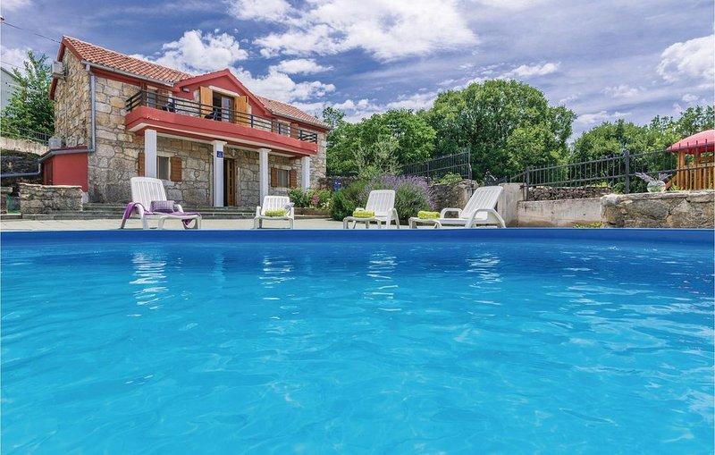 3 Zimmer Unterkunft in Krusevo, aluguéis de temporada em Gracac