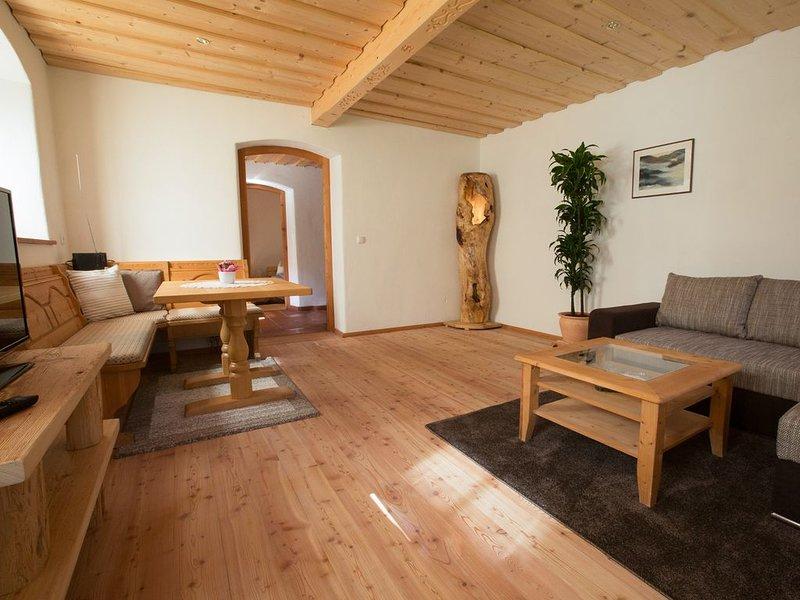 Ferienwohnung Wildmoos, 2-3 Pers., 1 separater Schlafraum, Terrasse, 58 m², holiday rental in Unken
