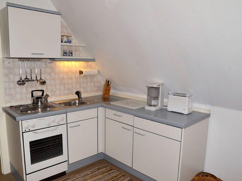 Appartement 2 (50qm) avec balcon-cuisine avec kitchenette