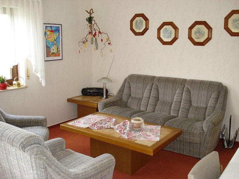 Ferienwohnung, 45qm, 1 Schlafzimmer, max. 3 Personen, vacation rental in Saig