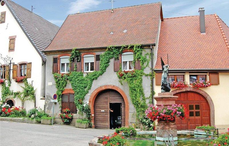 2 Zimmer Unterkunft in Pfaffenheim, vacation rental in Soultzmatt