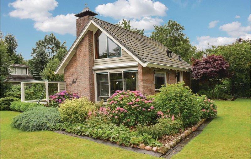 4 Zimmer Unterkunft in Zorgvlied, holiday rental in Drenthe Province