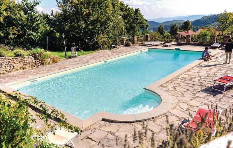 6 Zimmer Unterkunft in San Giustino (PG), vacation rental in Parchiule